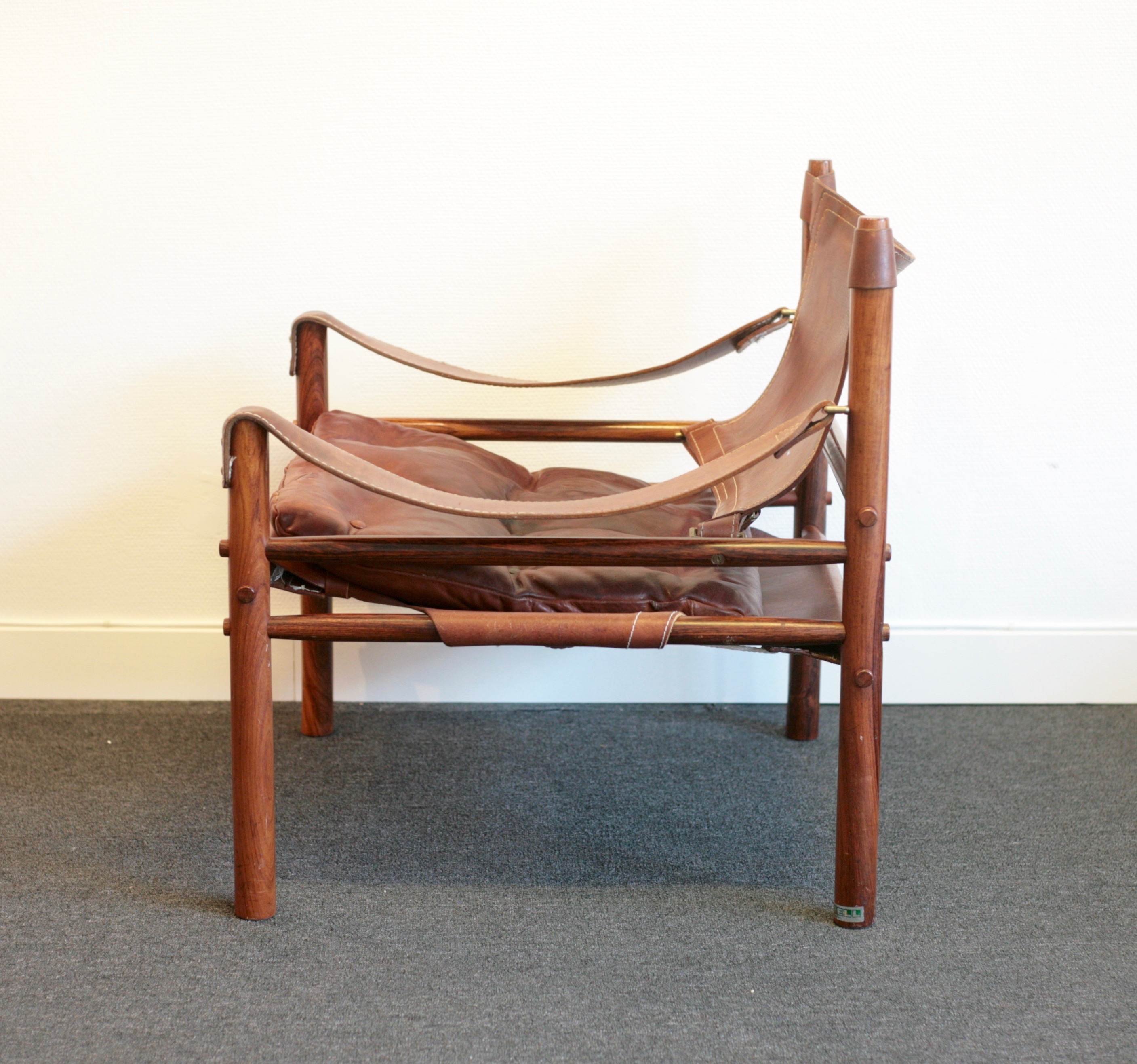 Scirocco Safari chair by Arne Norell