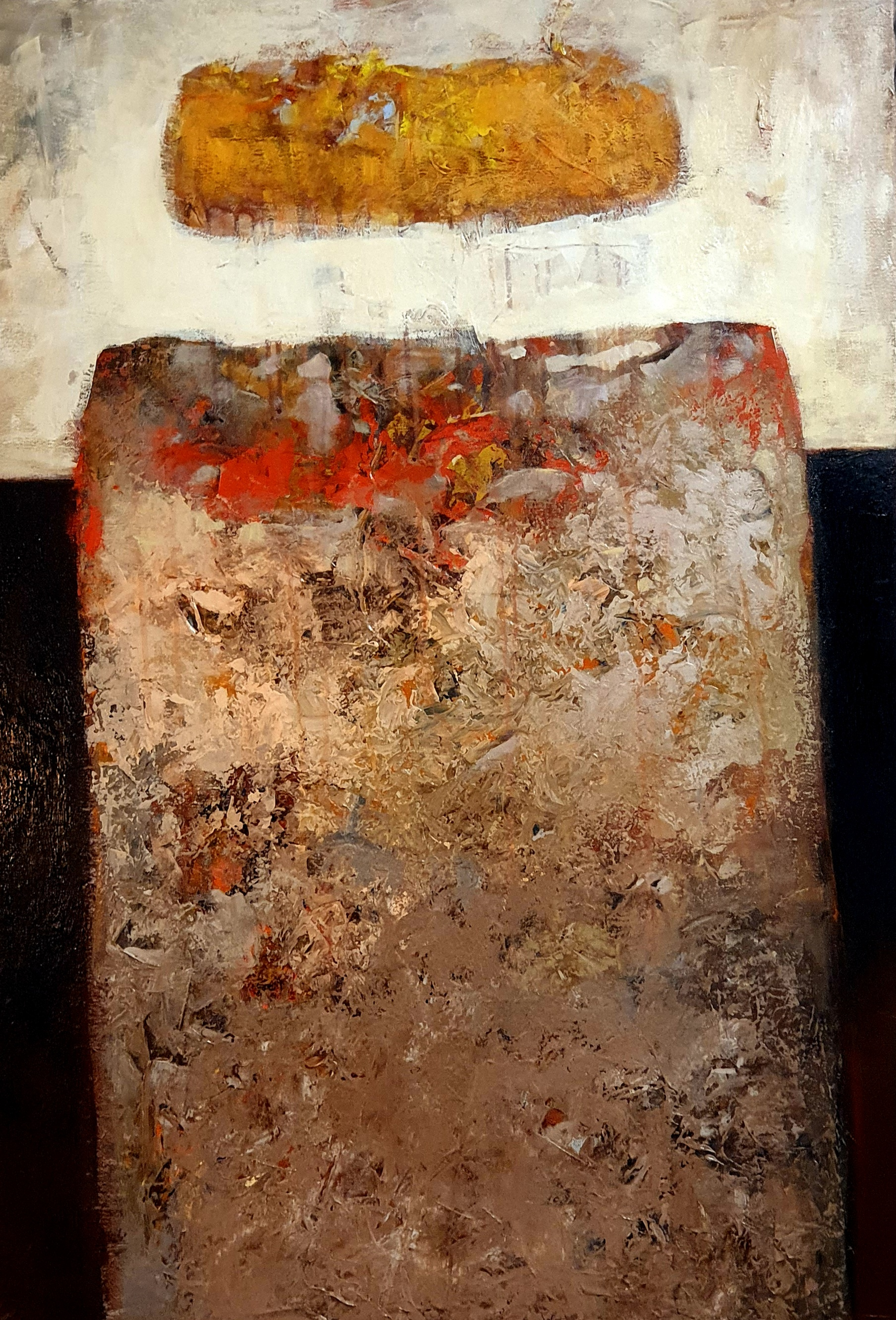Oleg Bondarenko - Tower, oil painting