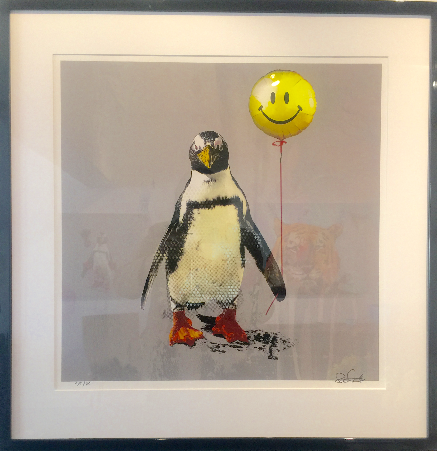 Robert Hilmersson - Don´t worry be happy, ciclée print