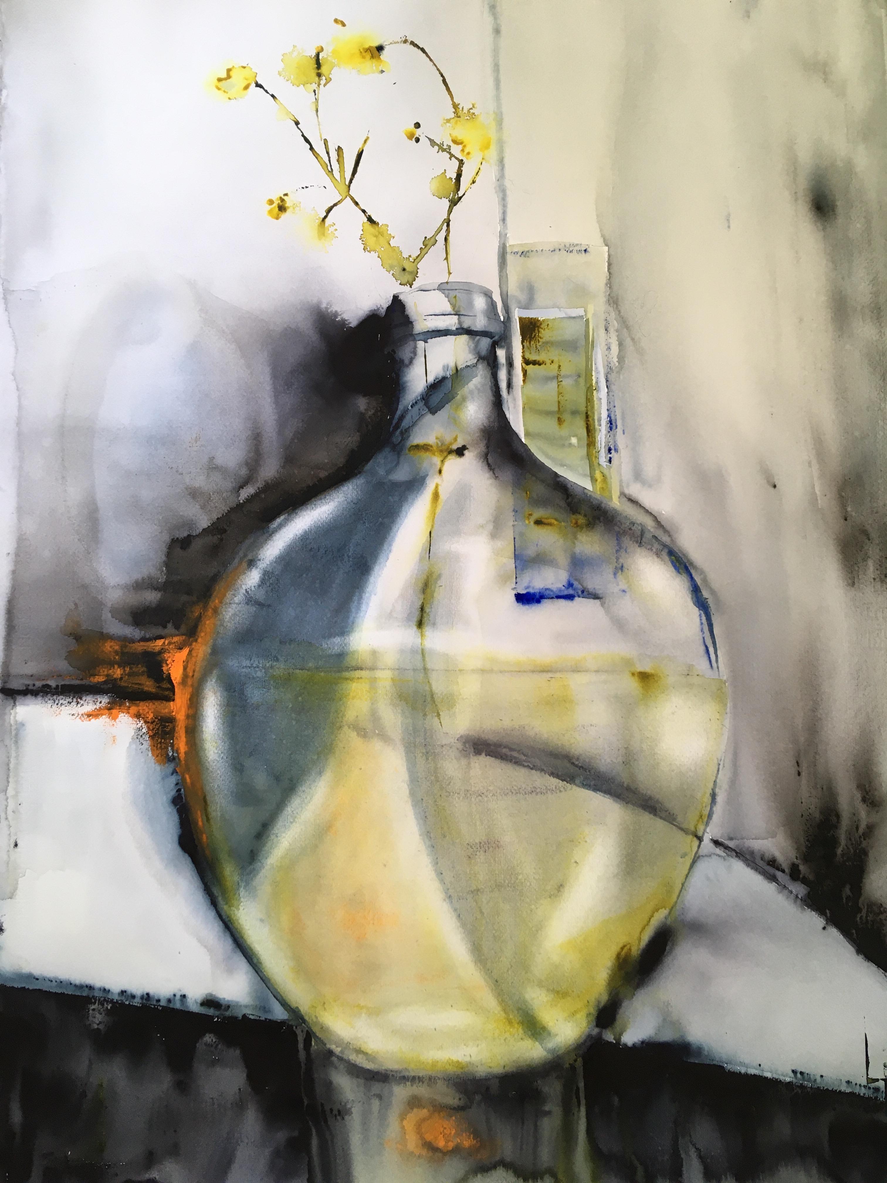 Lena Hoel - Gigant, akvarell
