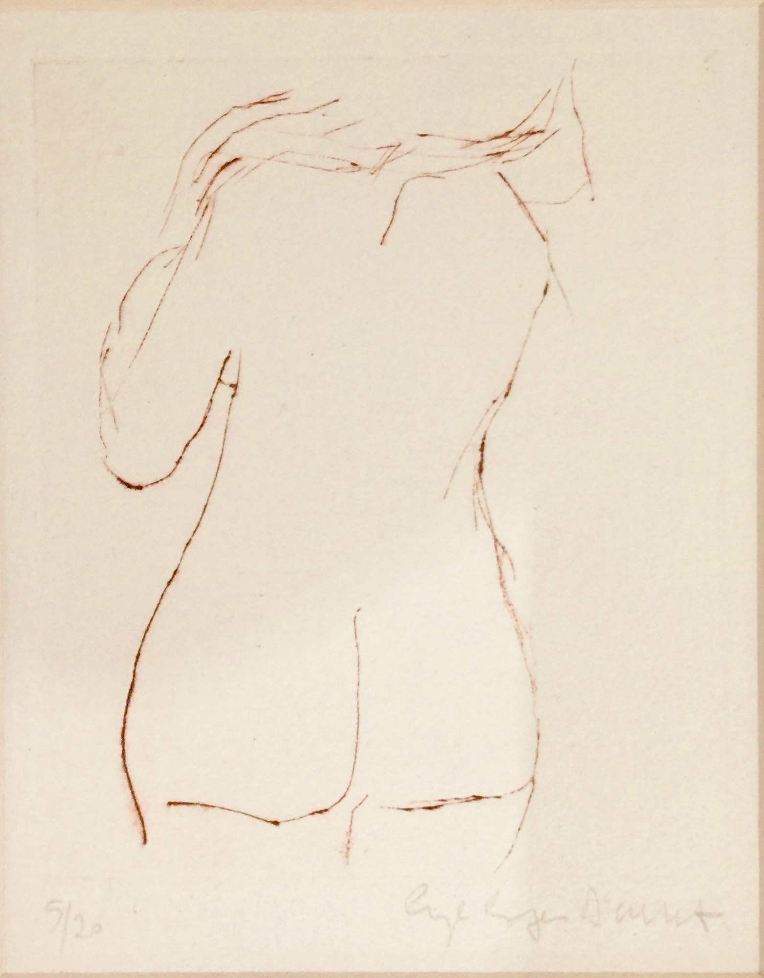 Angela Brignone Duckert - Nude no 4