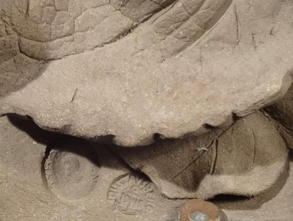 Tyra Lundgren - Burdock, stoneware relief