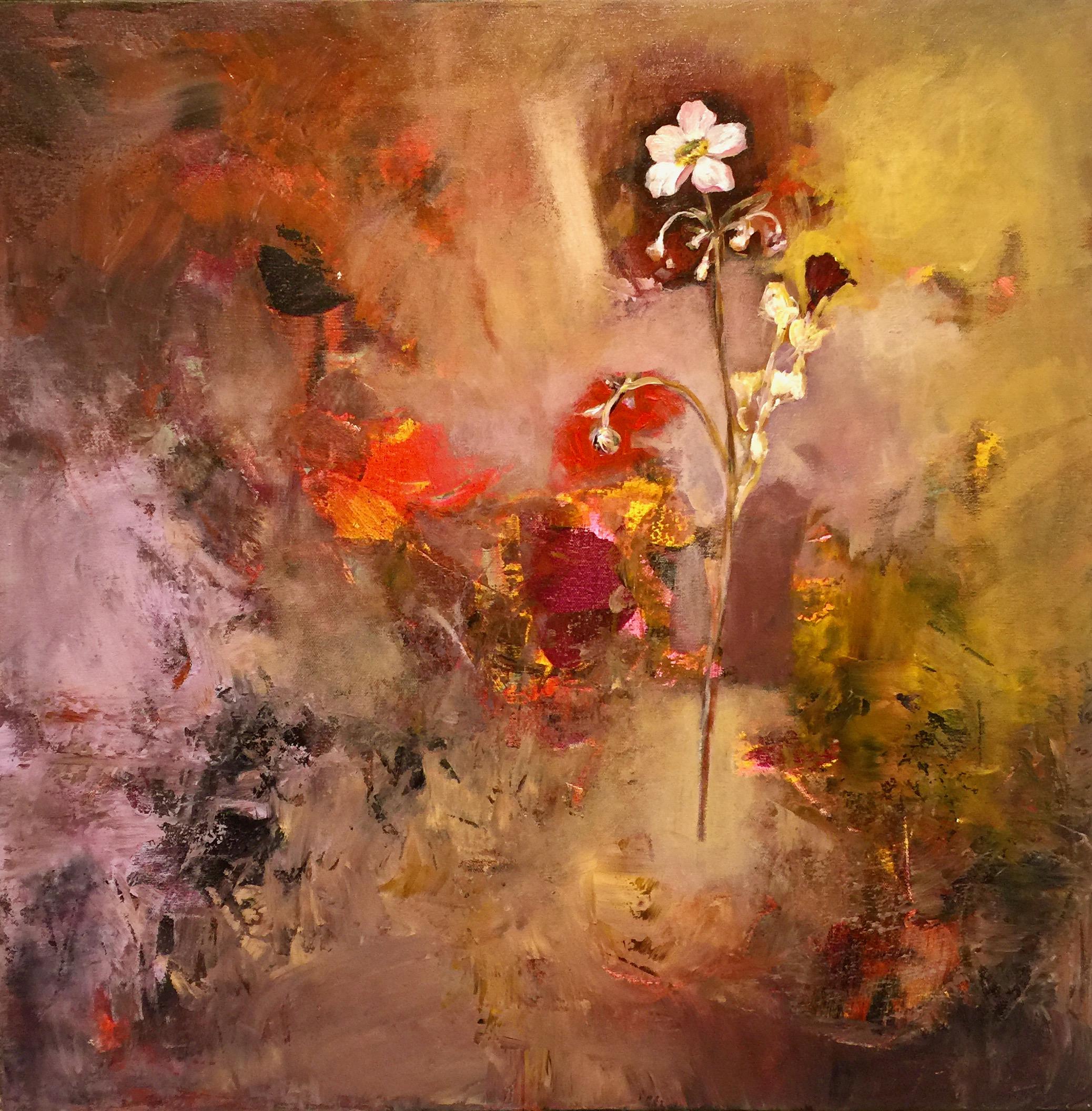 Oleg Bondarenko - Purple garden II, oljemålning