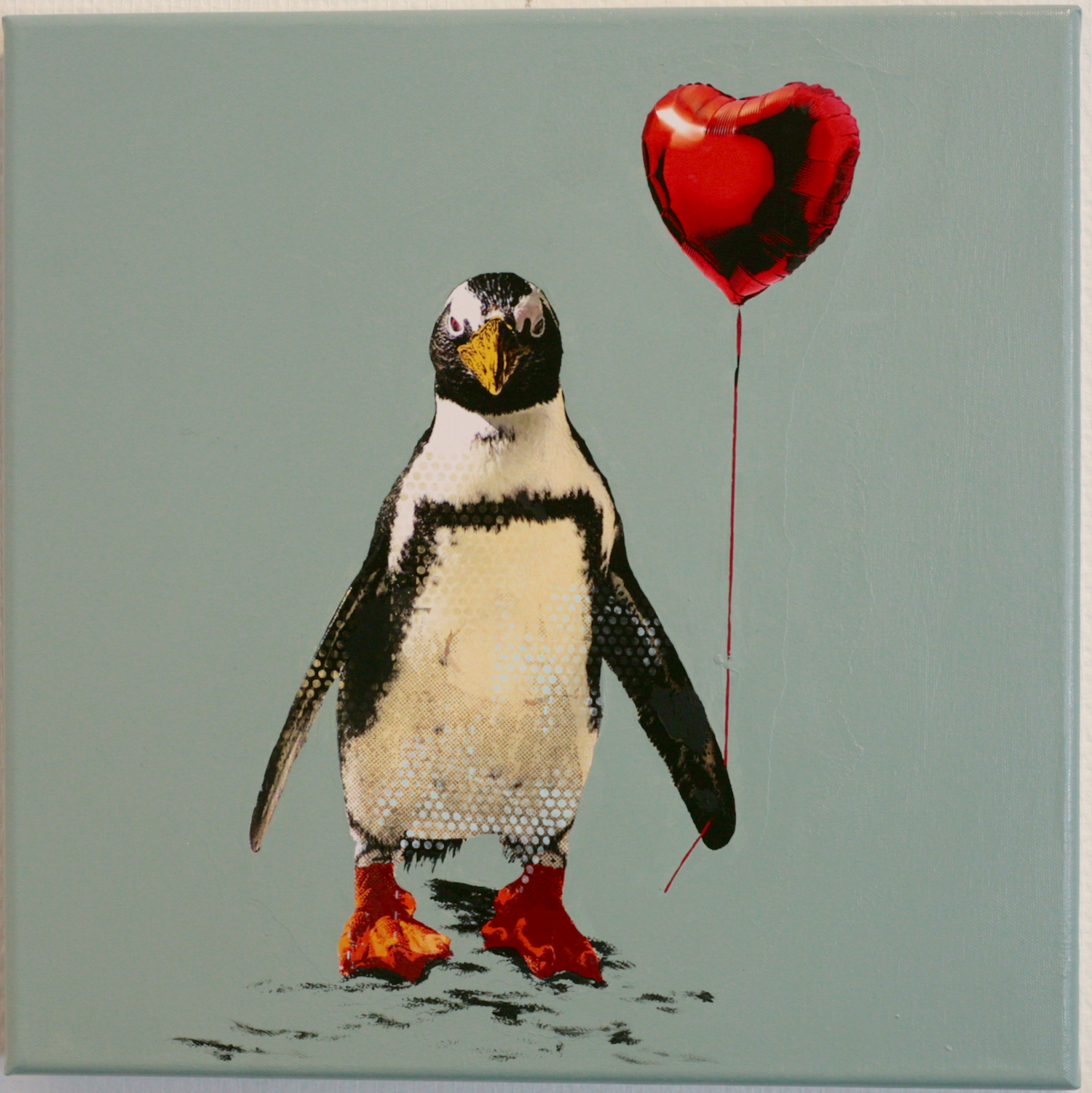 Robert Hilmersson - Love is in the air, oil on canvas