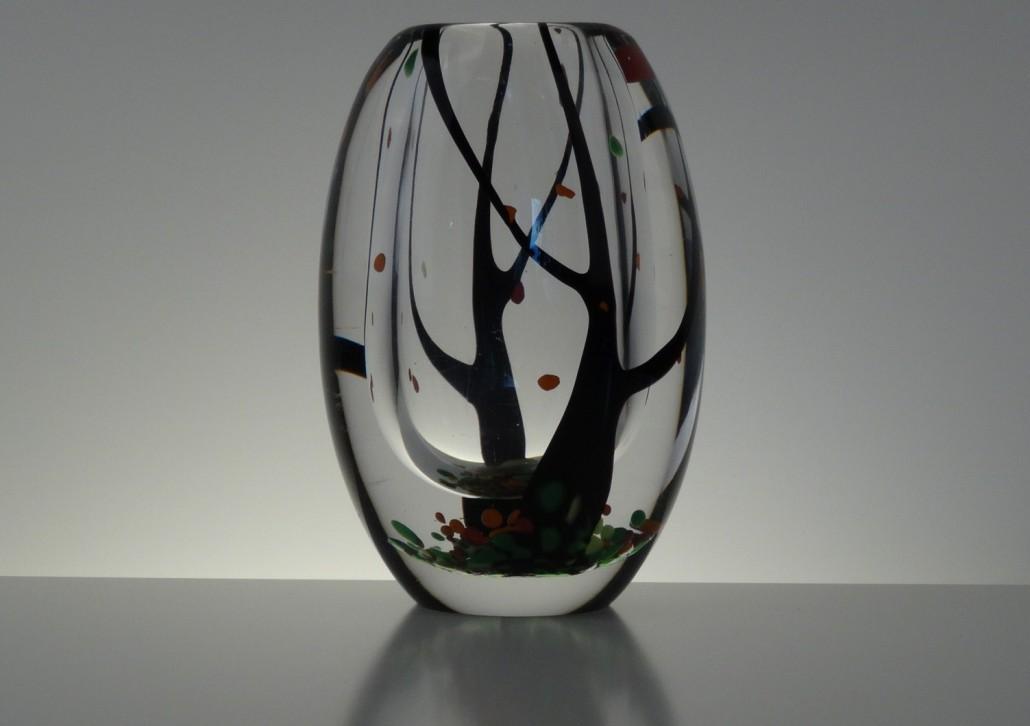 Autumn vase by Vicke Lindstrand for Kosta