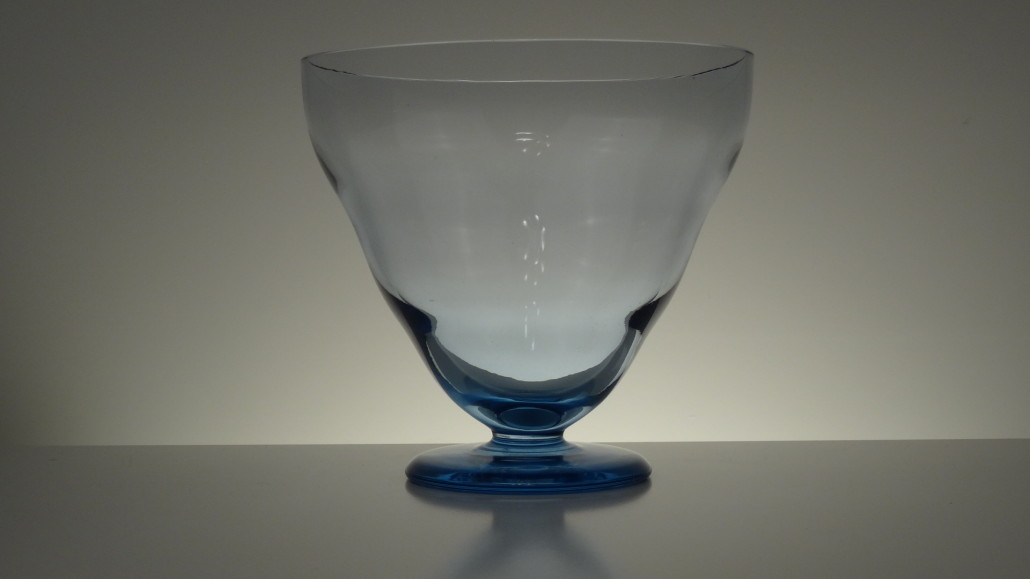 Glass bowl by Gunilla Jung for Karhula, 1930´s