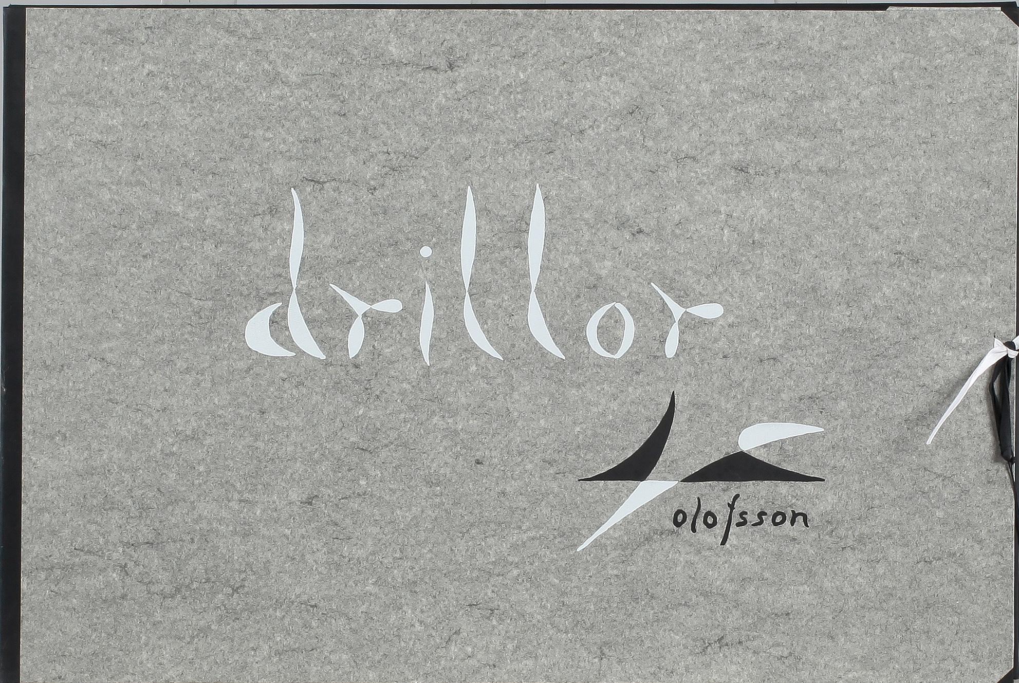 Pierre Olofsson, Drillor, mapp med 4 serigrafier