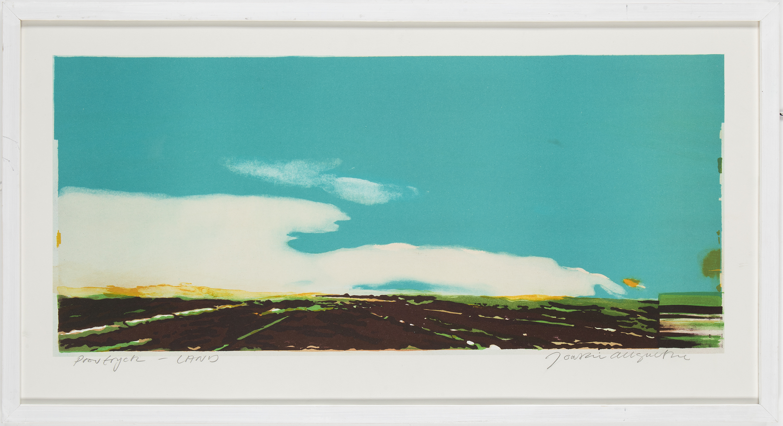 Joakim Allgulander - Land, lithograph
