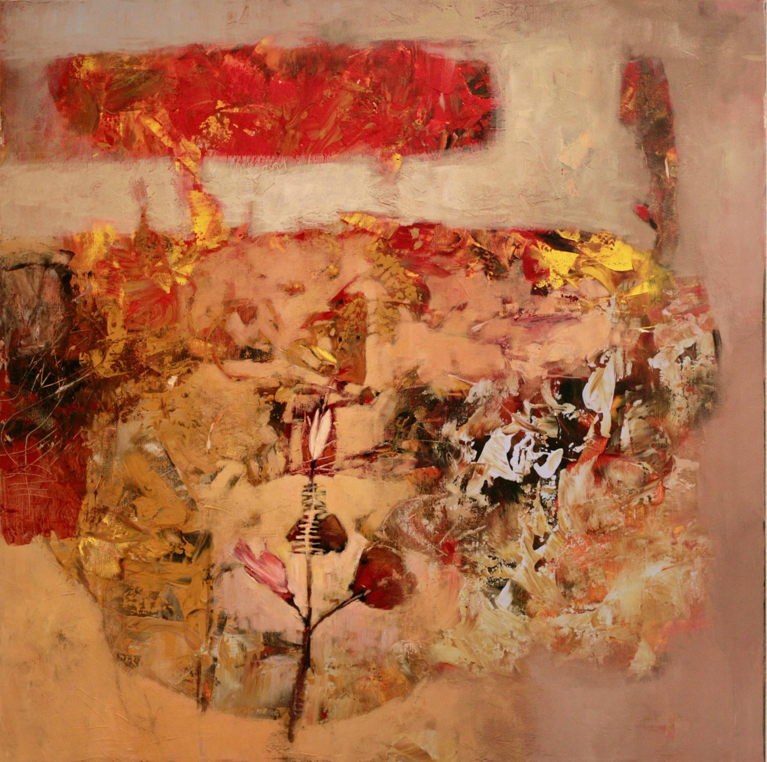 Oleg Bondarenko - Flower field, oil painting
