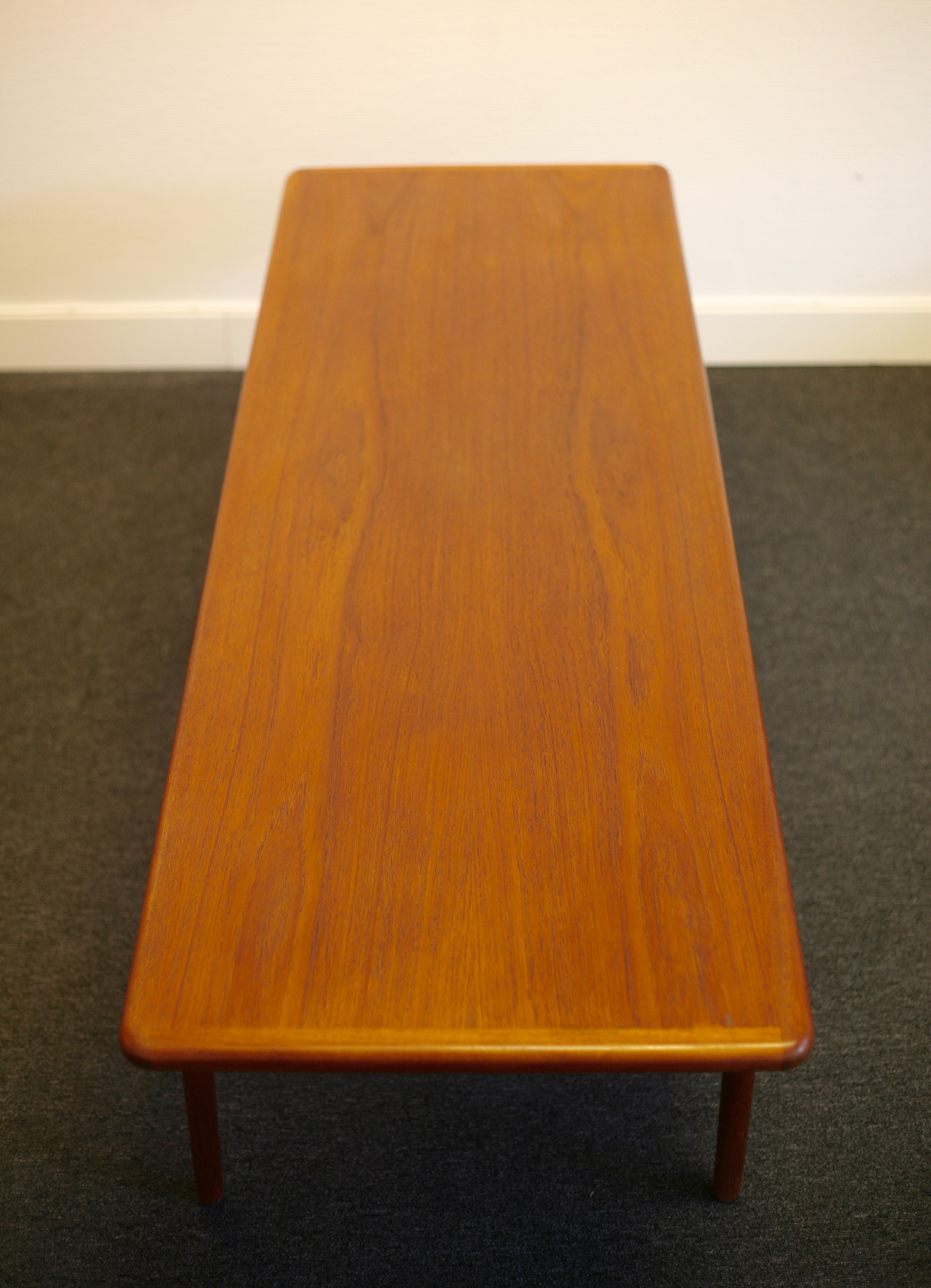 Rare coffee table by Johannes Andersen for CFC