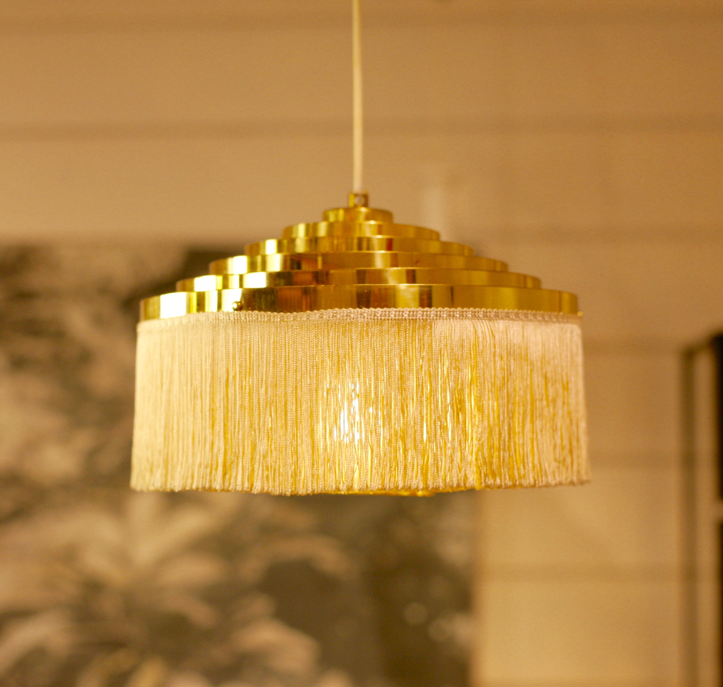 Hans-Agne Jakobsson - Brass fringe lamp