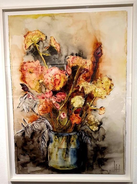 Lena Hoel - Frosseri, akvarell