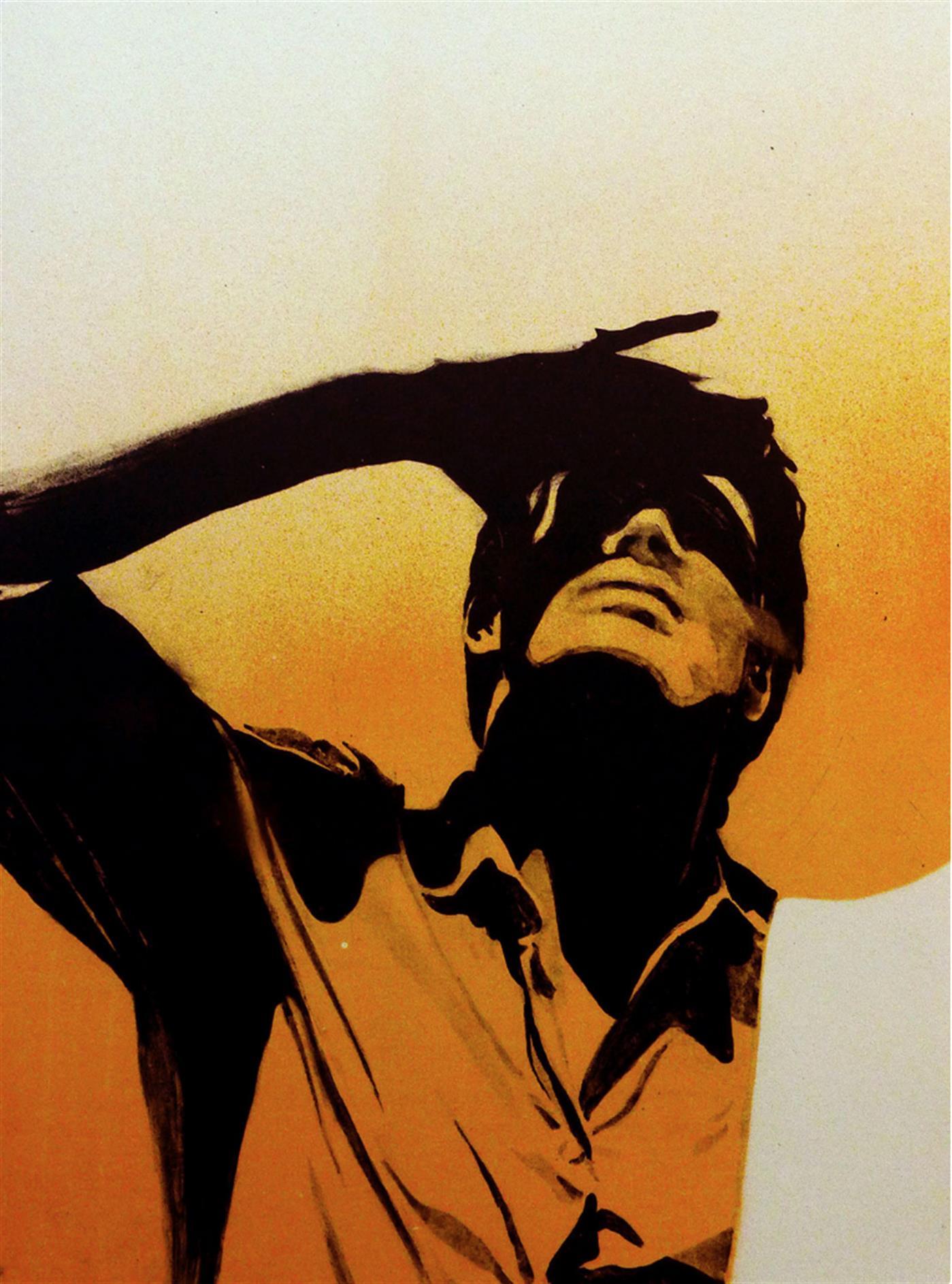 Joakim Allgulander - Blinded, colour lithograph