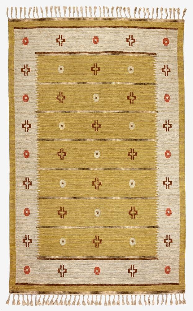 Swedish röllakan carpet