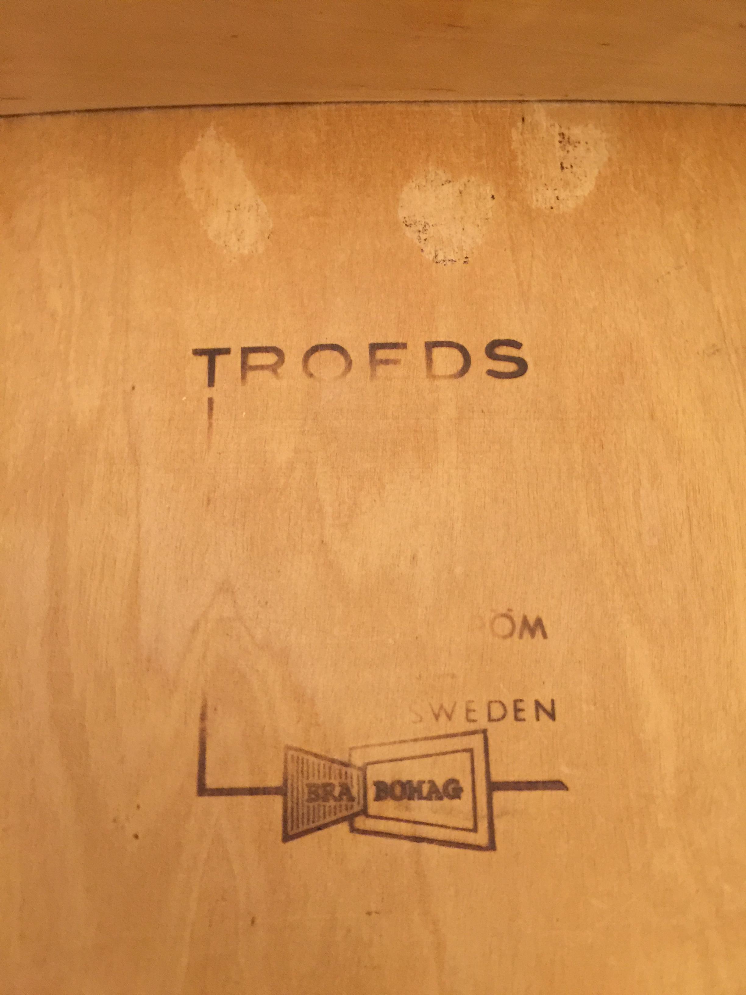 2 chairs Kontiki by Yngve Ekström for Troeds