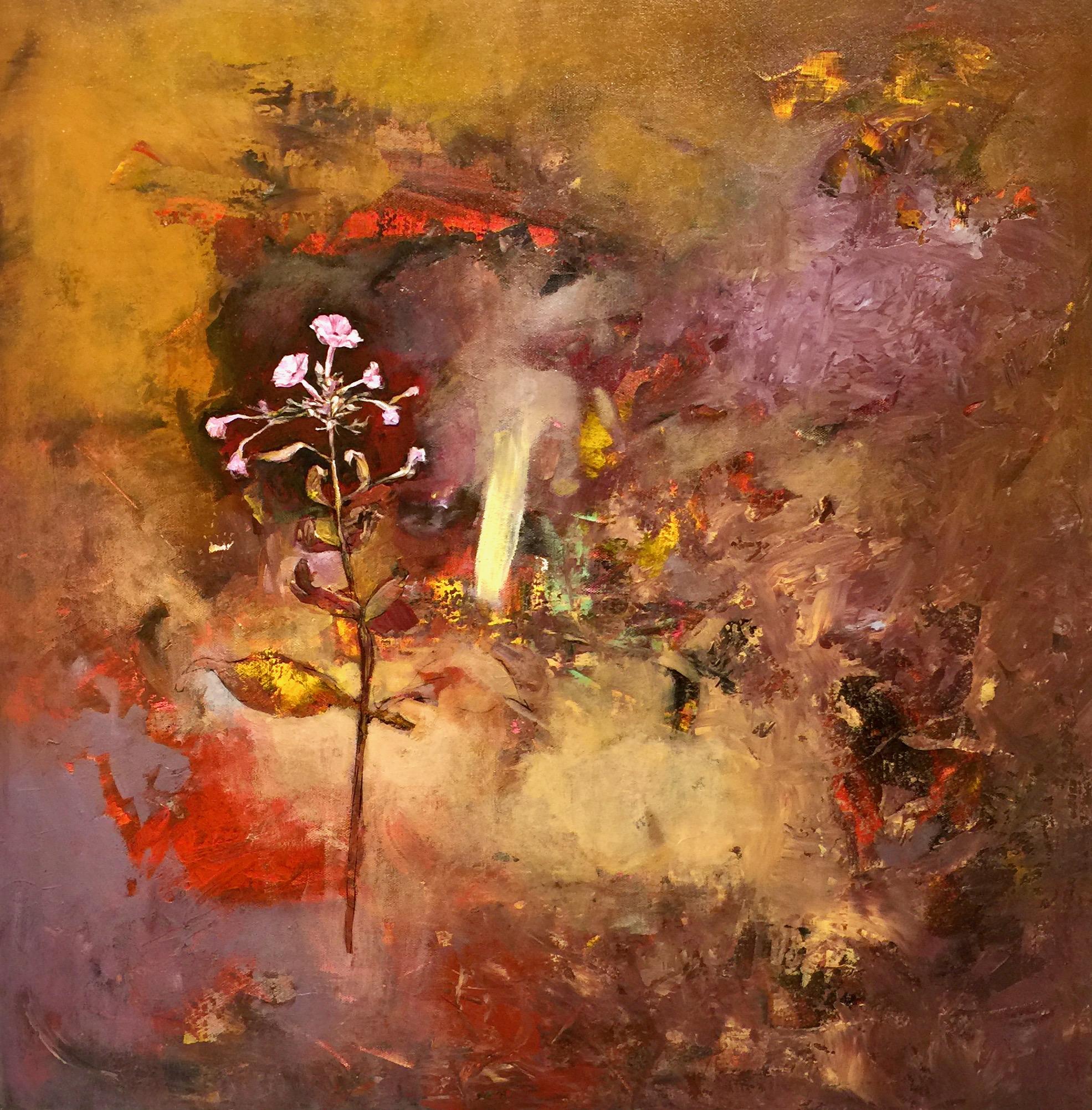 Oleg Bondarenko - Purple garden I, oljemålning