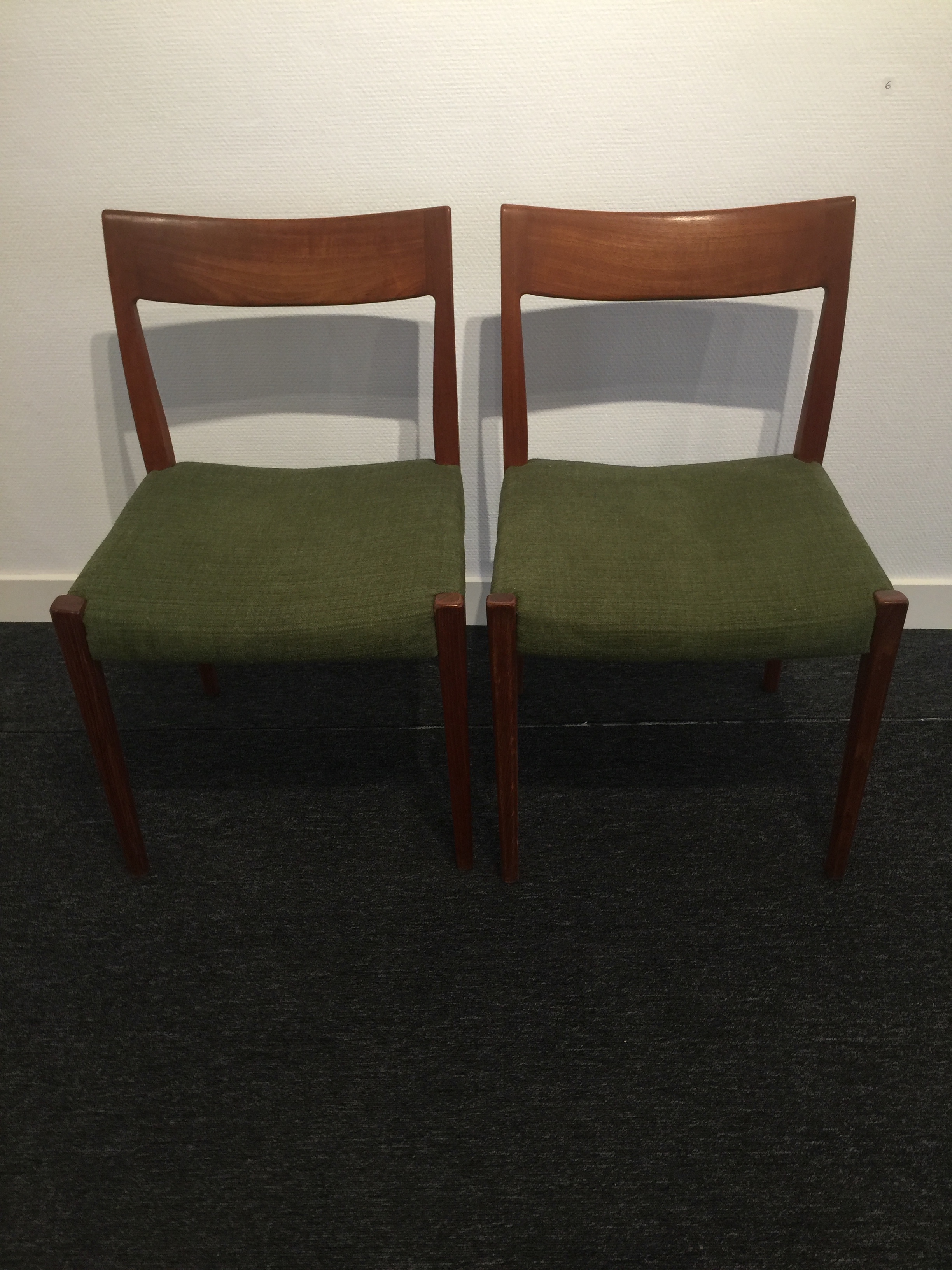 2 chairs Kontiki by Yngve Ekström for Troeds