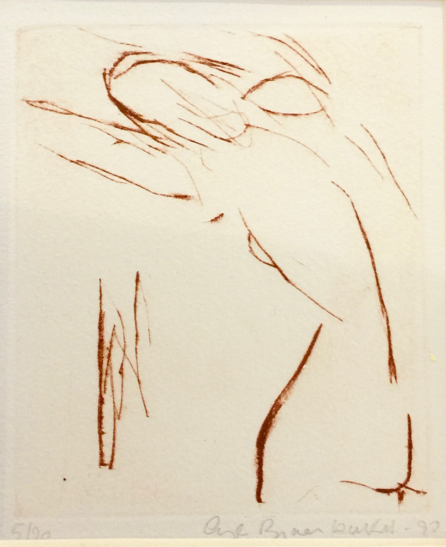 Angela Brignone Duckert - Nude no 2