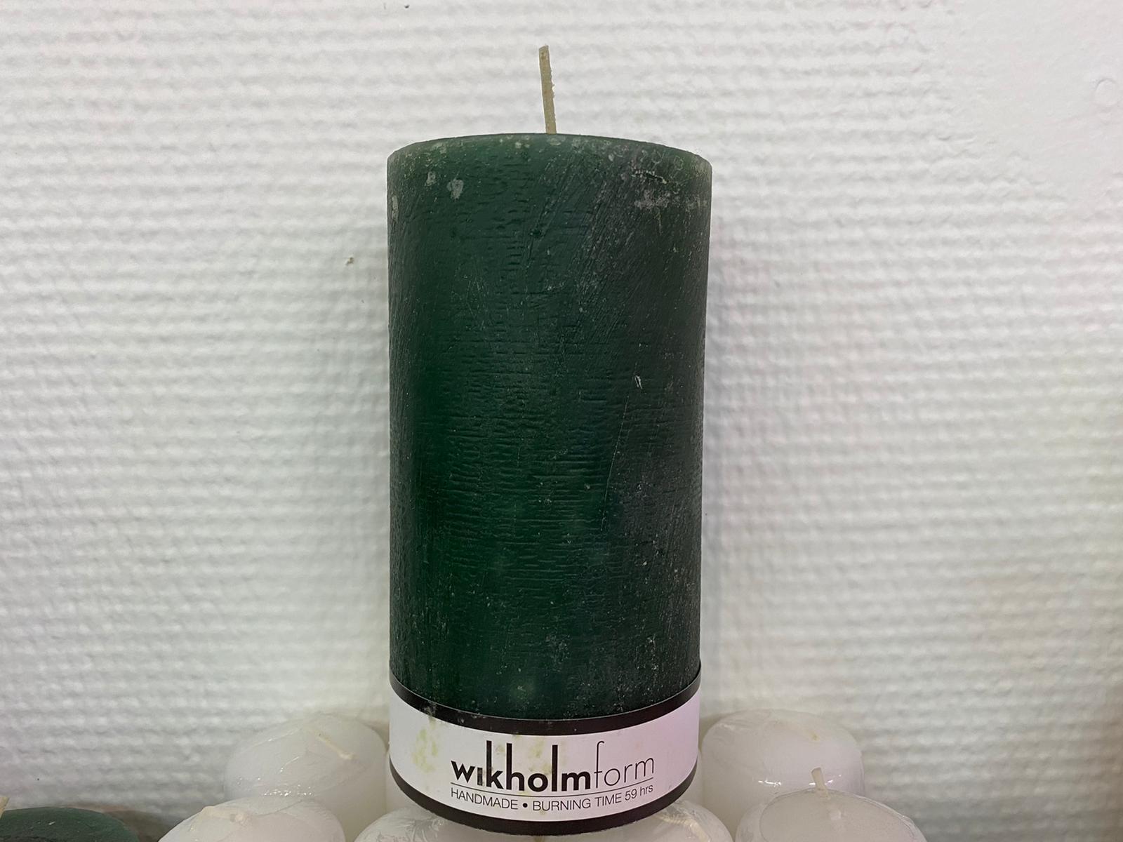 Rustika Ljus 46 tim grön