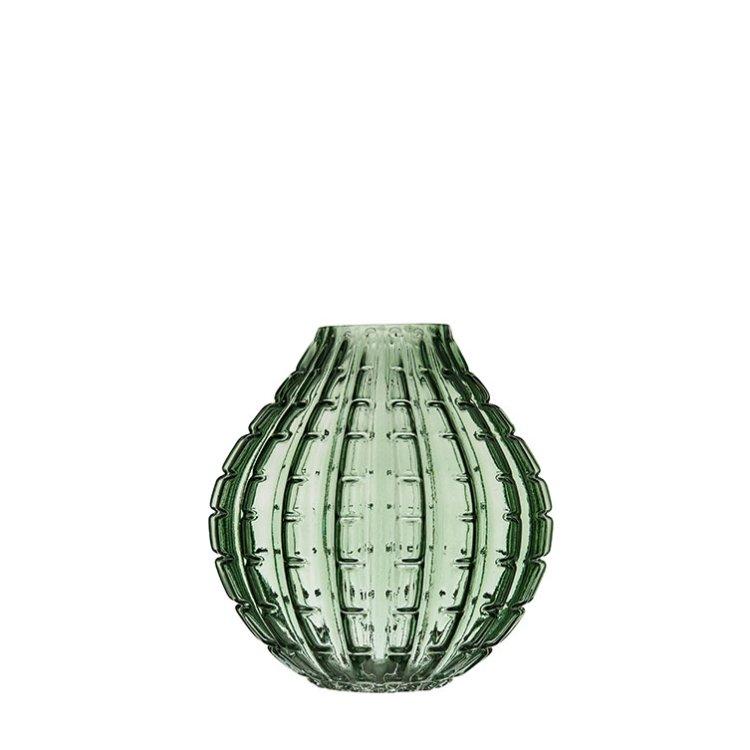 Leah Glasvas grön 7,5x23cm