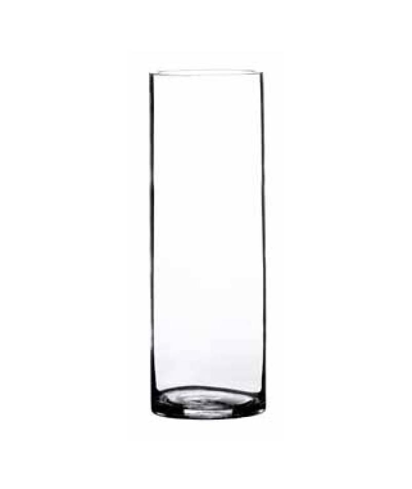 Cylindervas klar 10x25cm