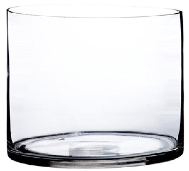 Cylindervas klar 30x25cm