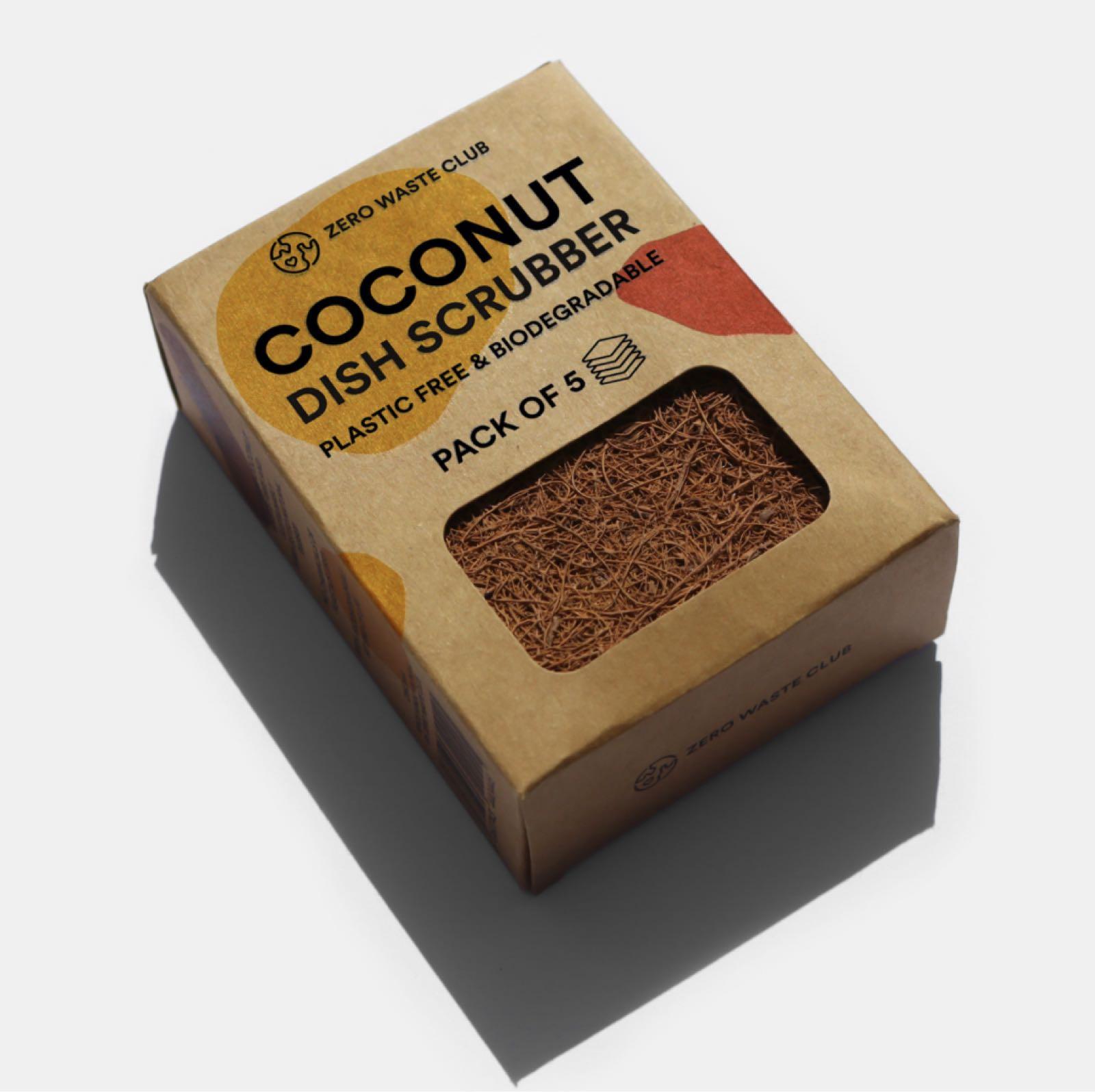 Coconut Scrubbers x5