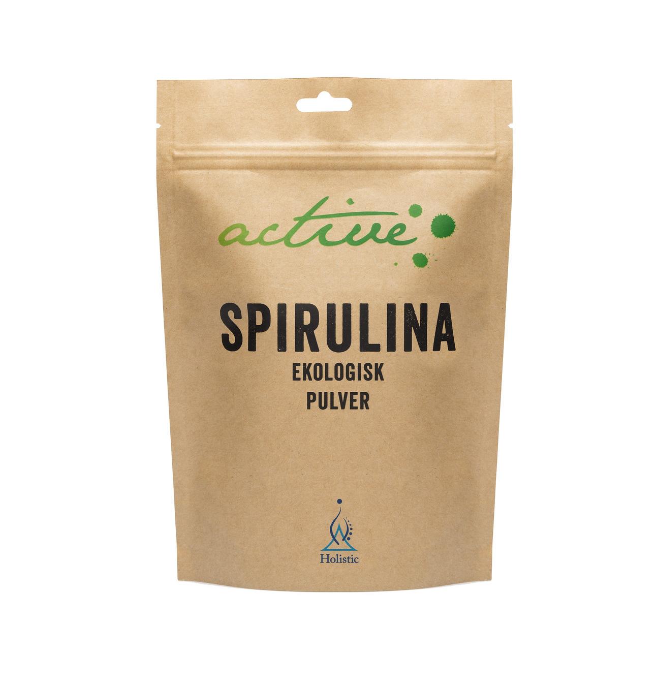 Spirulinapulver Ekologiskt 150 g