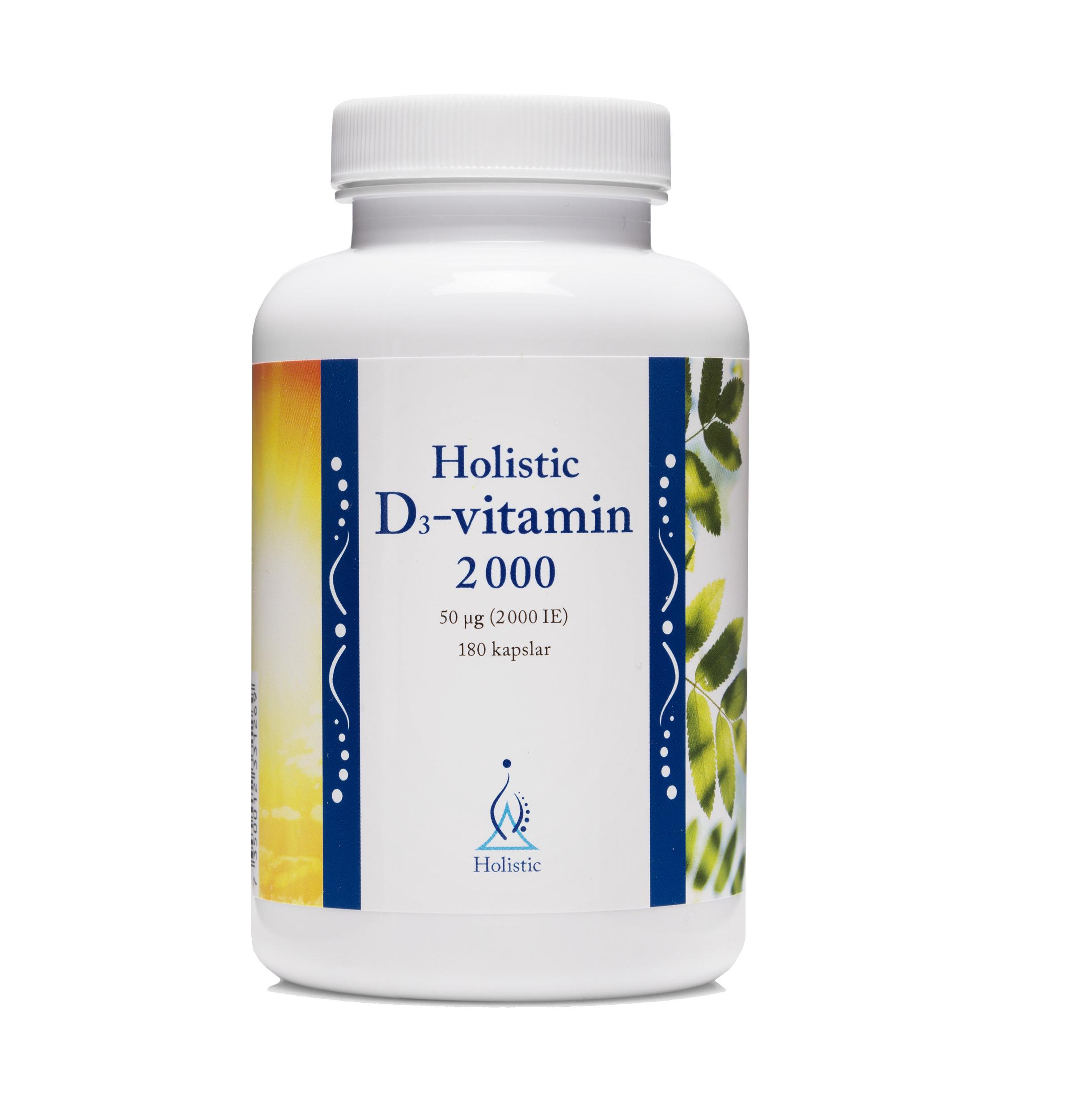 D3-vitamin 2000