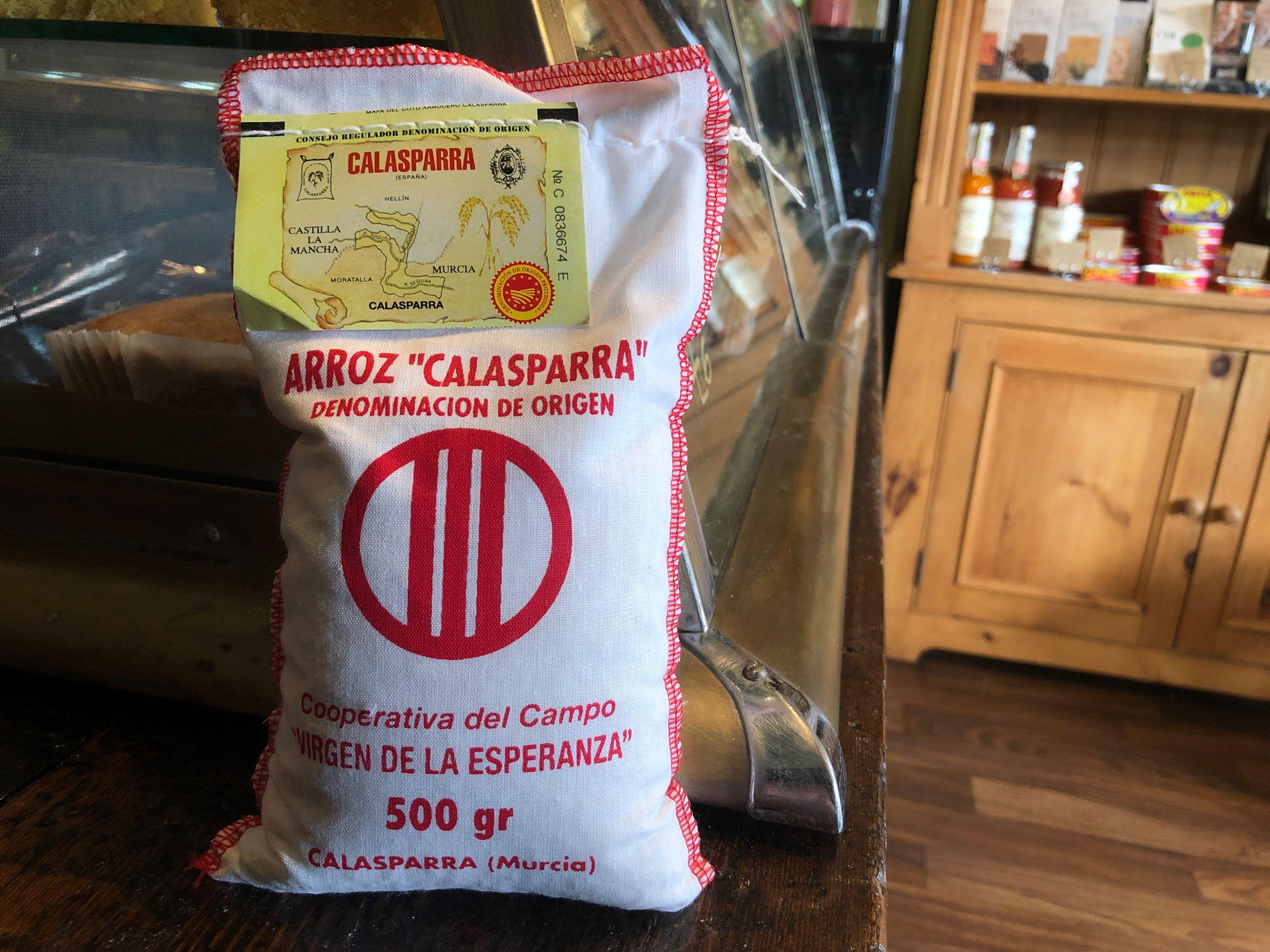 Calasparra white paella rice DOP 500g