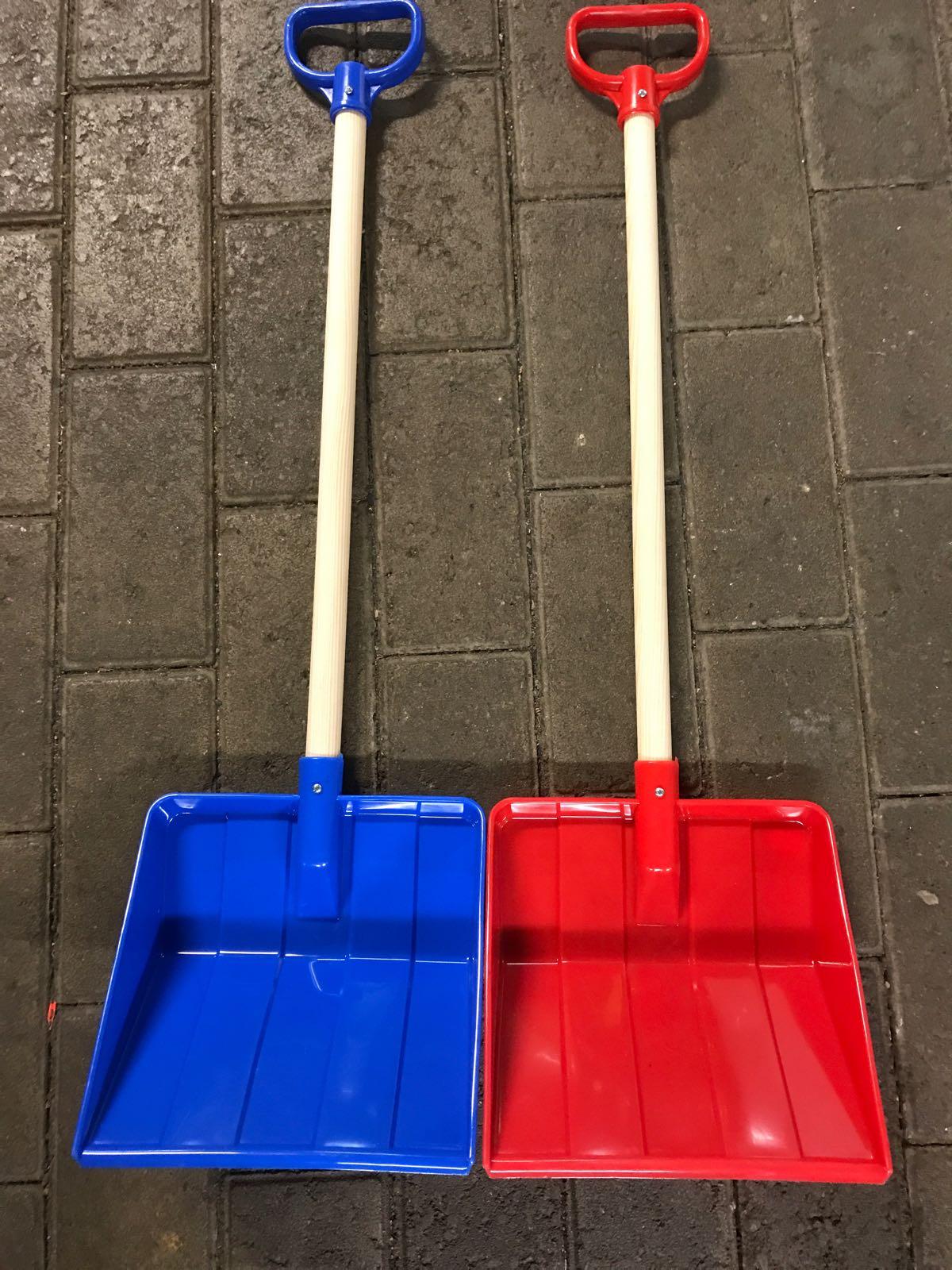 Snöskottare Barn blå/röd