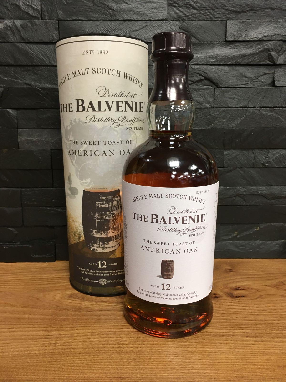 Balvenie 12 Sweet Toast of American Oak 70cl