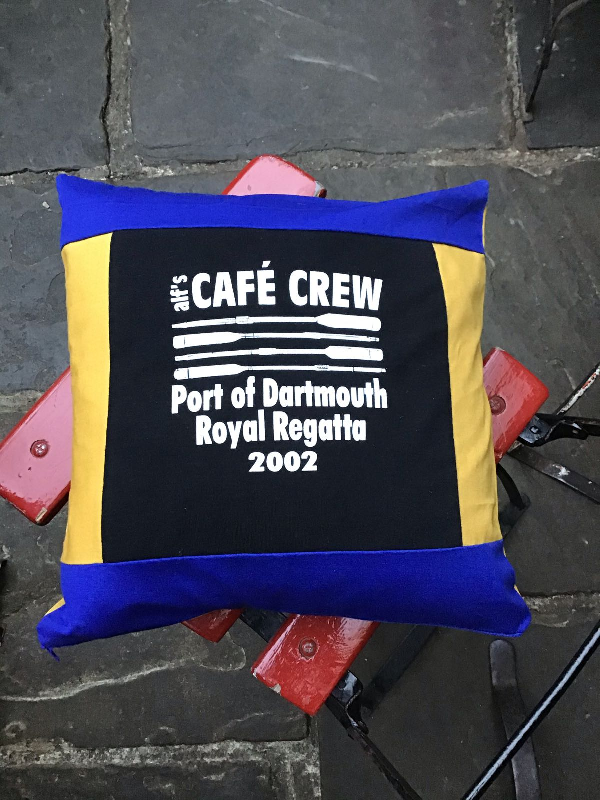 Vintage Regatta 2002 Cushion