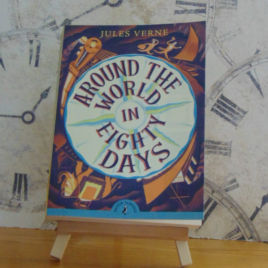 Book - Around the World in Eighty Days by Jules Verne