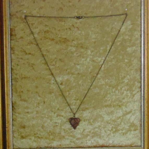 Necklace - Copper Heart Pendant