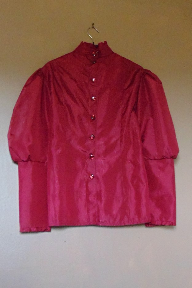 Ladies Victorian Style Blouse Handmade by Isis - size 12/14