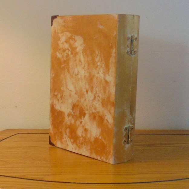 Box - Steampunk Design Book Style Jewellery or Memory Box