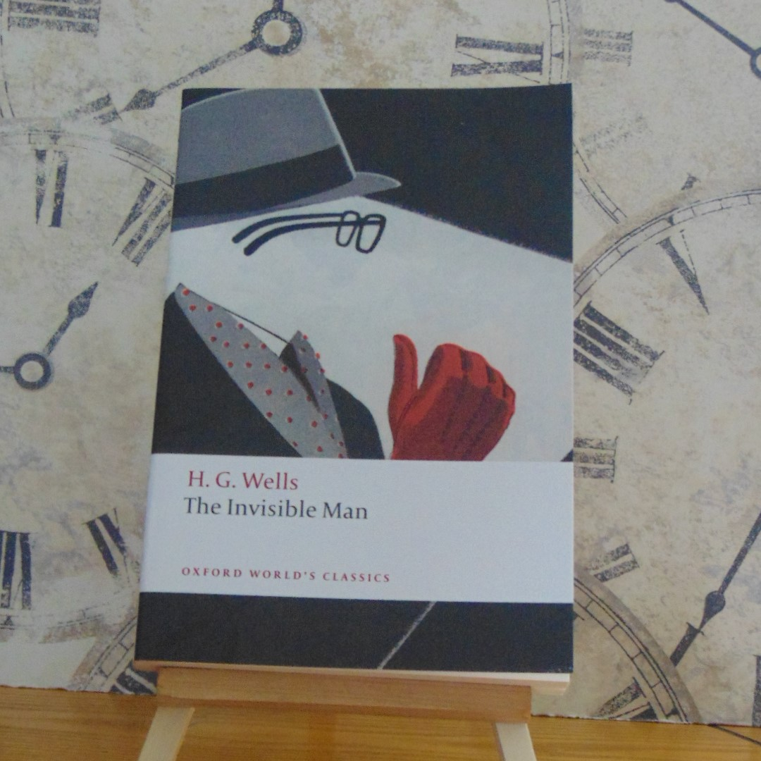 Book - The Invisible Man by HG Wells, Oxford World's Classics edition