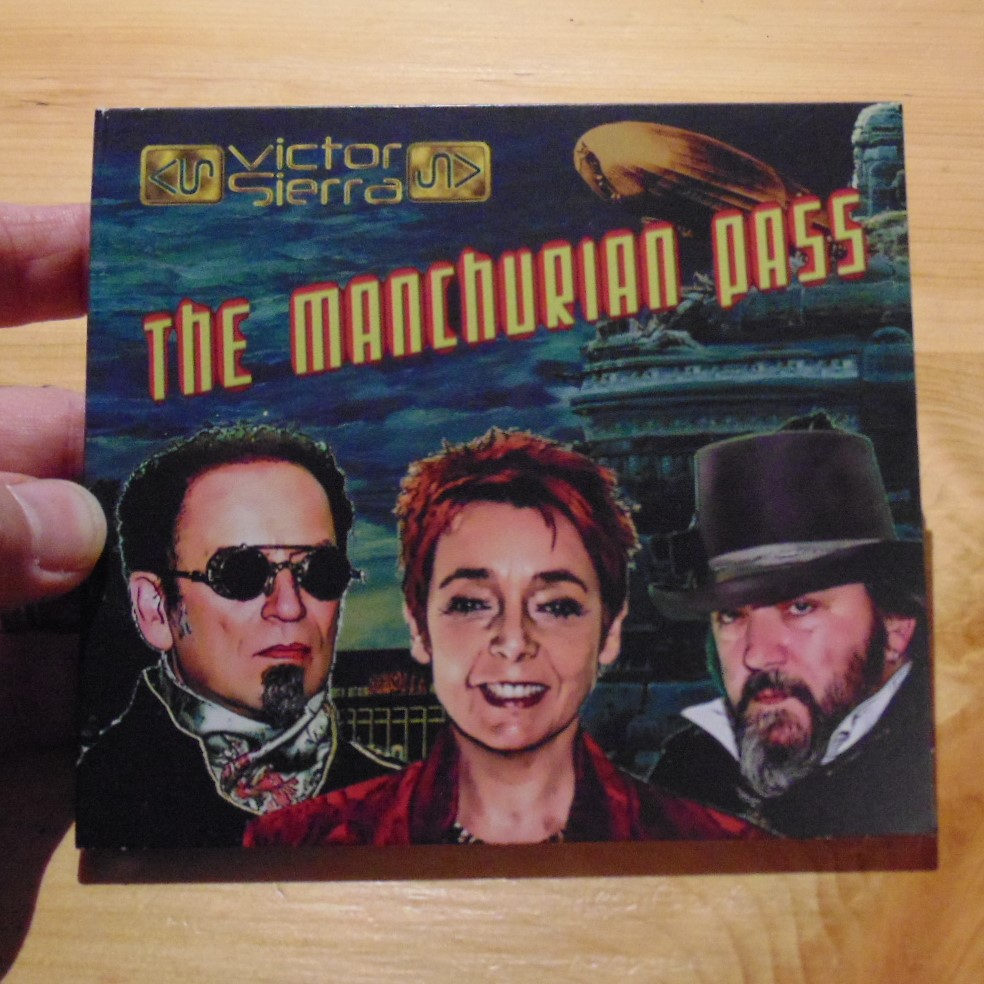CD - The Manchurian Pass by Victor Sierra