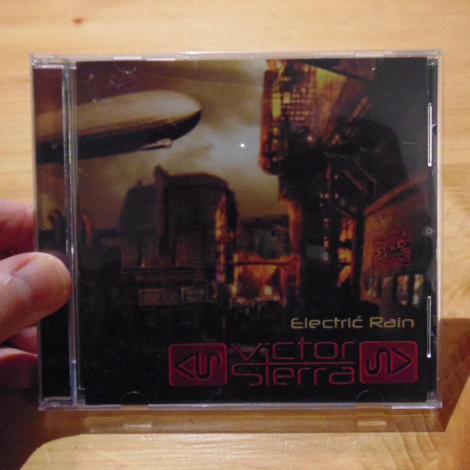 CD - Electric Rain by Victor Sierra