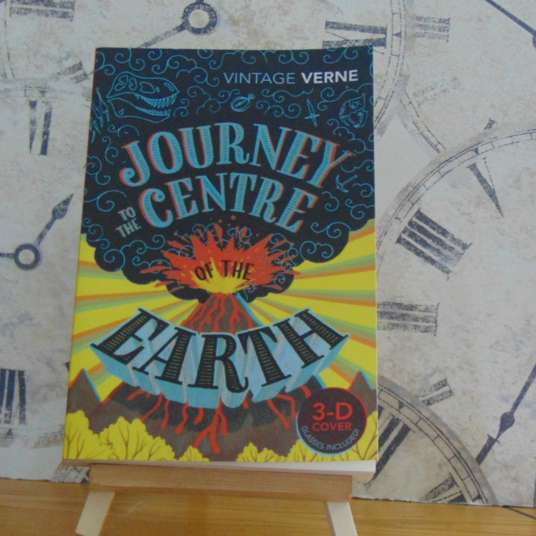 Book - Journey to the Centre of the Earth by Jules Verne