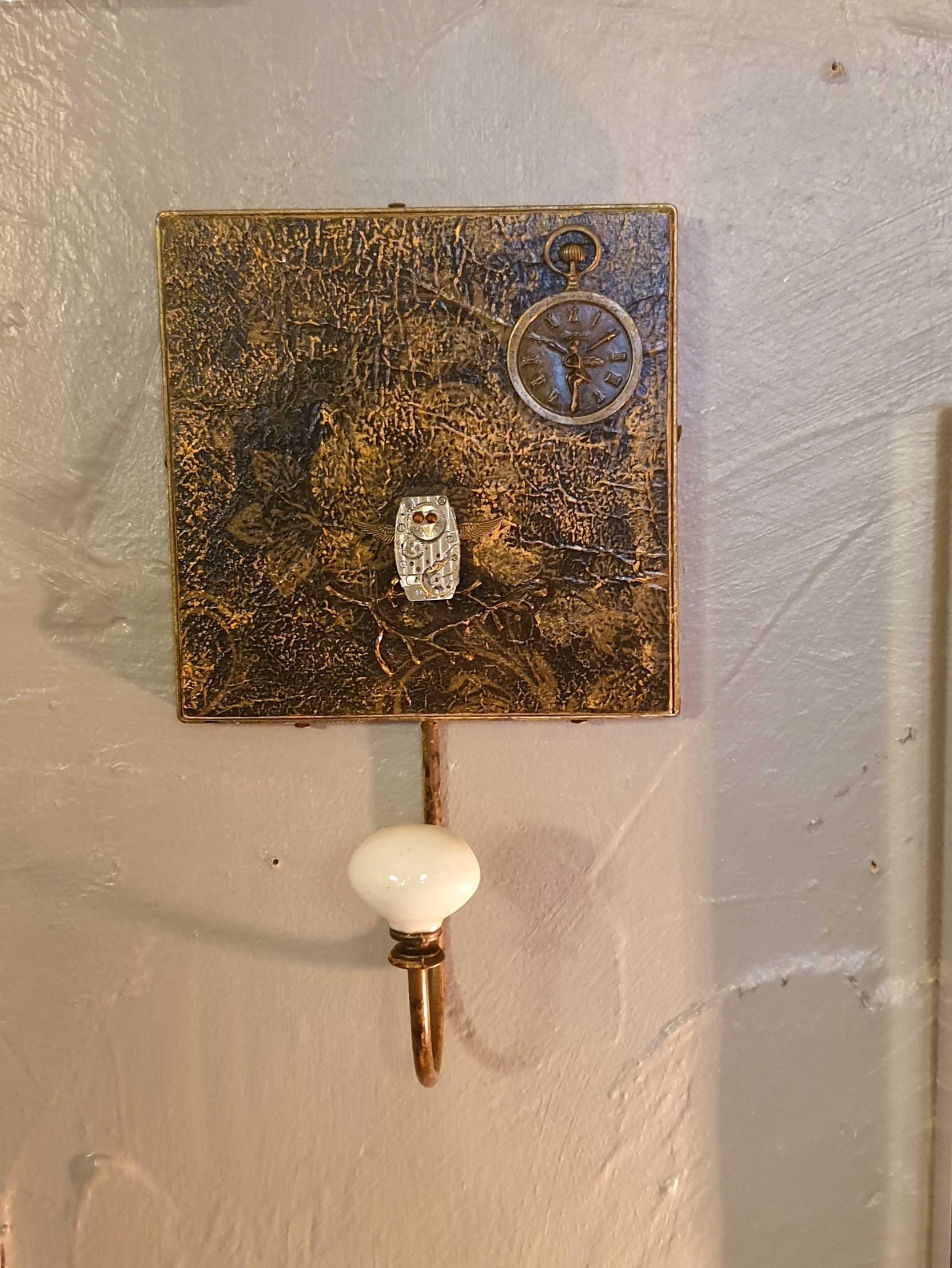 Coat Hook - Steampunk design 'Night Watch'
