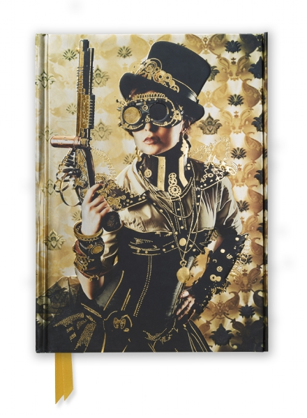Pocket Book - Steampunk Lady, Foiled Cover Notebook