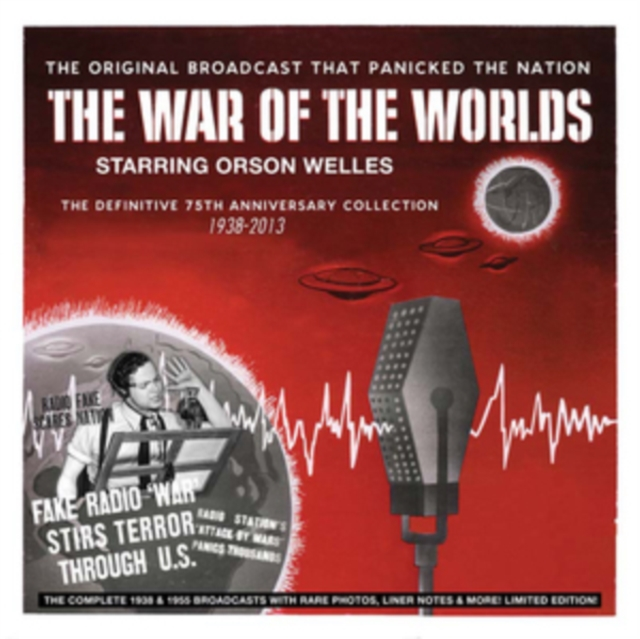 CD - The War of the Worlds, Orson Welles