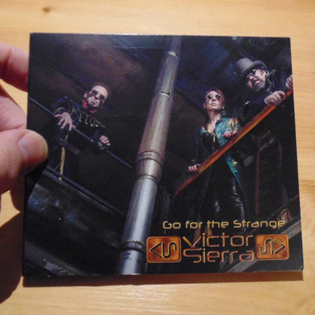 CD - Go For the Strange by Victor Sierra
