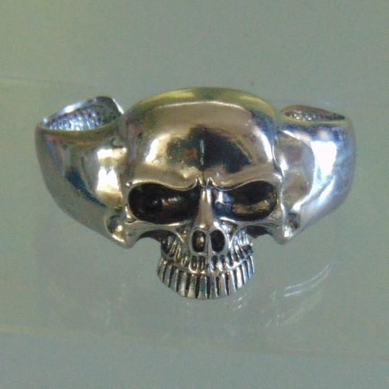 Bracelet - White Metal Skull