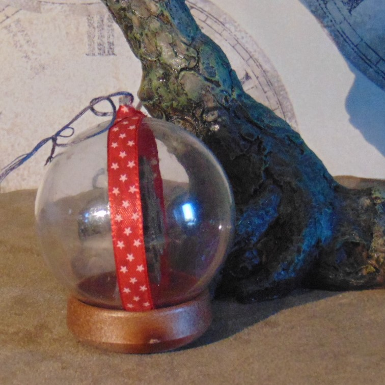 Christmas Bauble - Steampunk Design Duo Faced