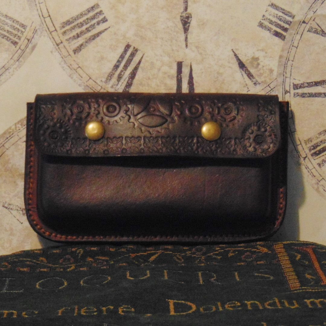 Steampunk Style Mobile Phone Pouch