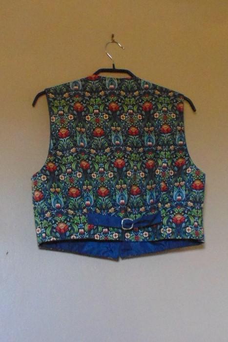 Ladies Short Waistcoat Handmade by Isis - size 16
