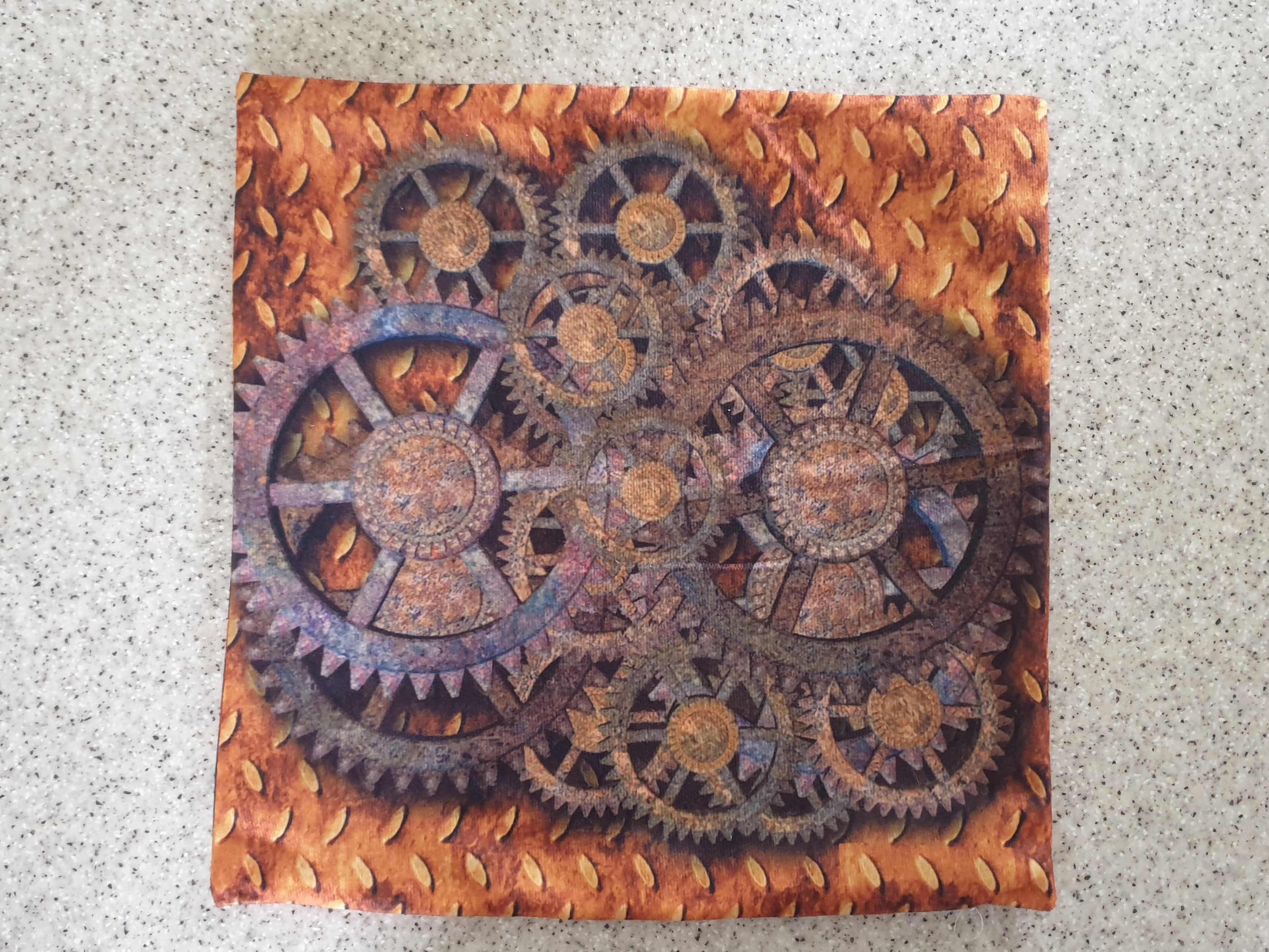 Cushion cover - Cogs